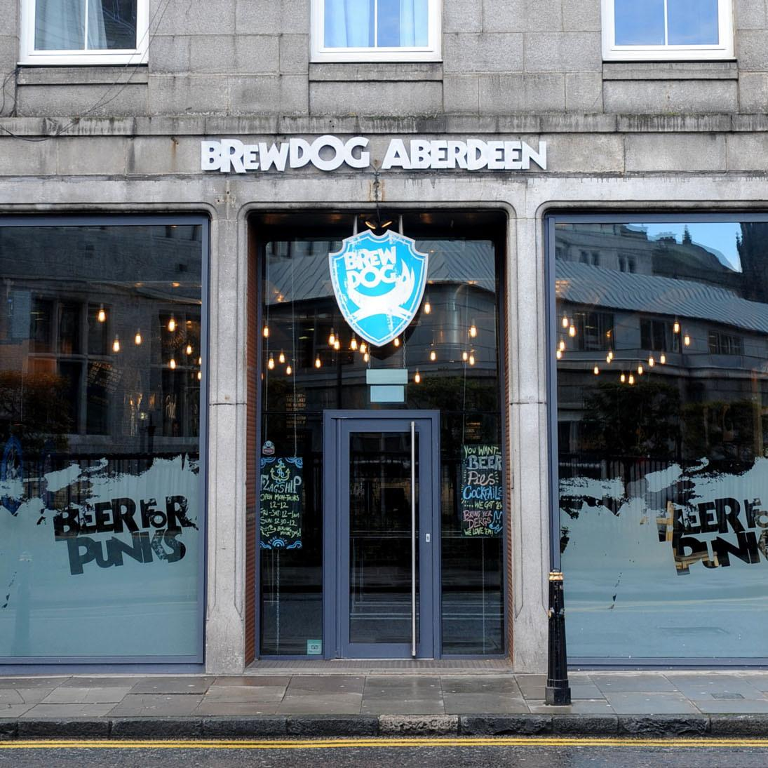 Brewdog Gallowgate Outside