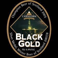 Cairngorm Black Gold Badge