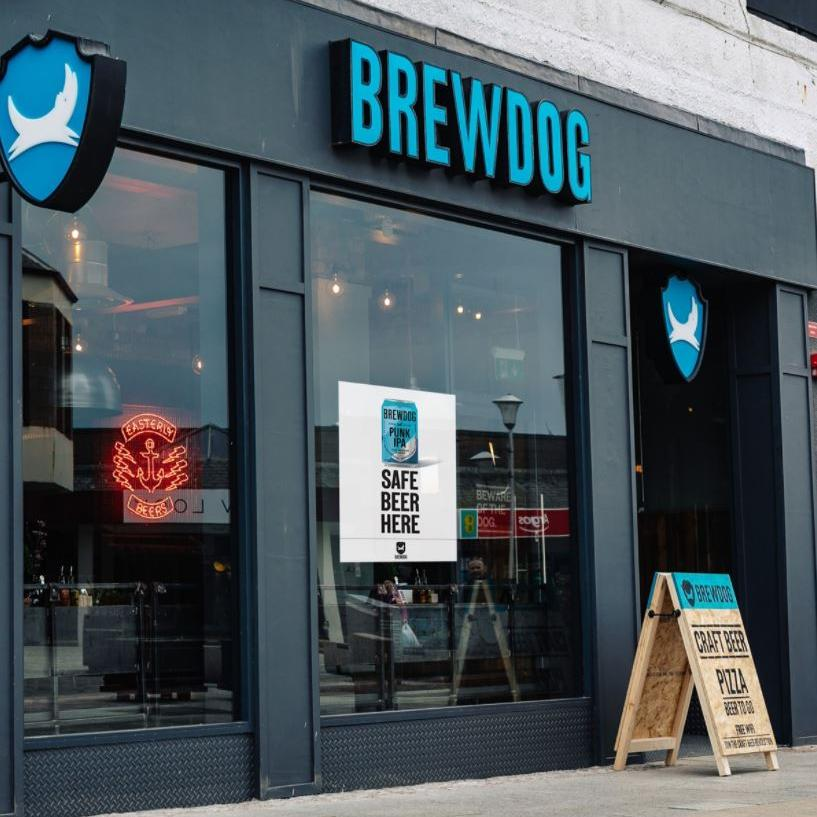 Brewdog Peterhead outside