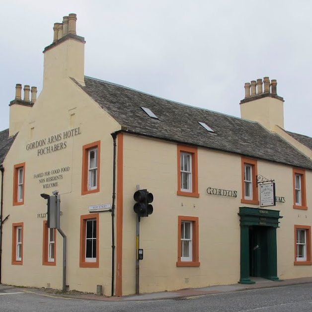 Gordon Arms Fochabers outside