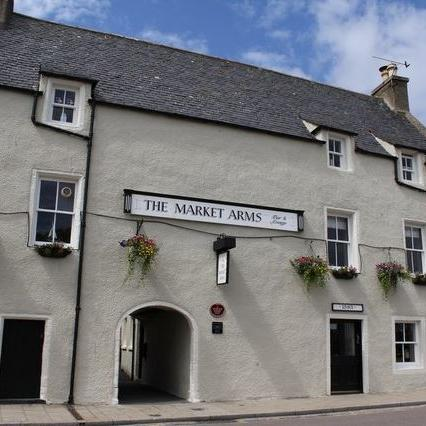 Market Arms banff outside