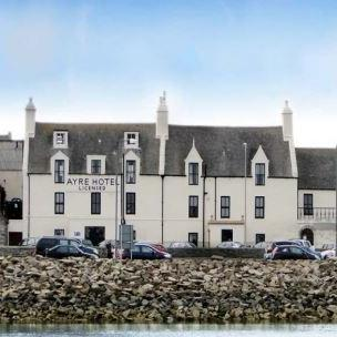 Ayre Hotel Orkney outside