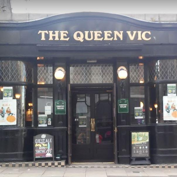 Queen Vic outside