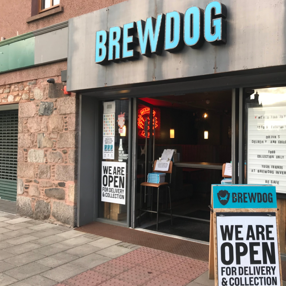 Brewdog Inverurie outside