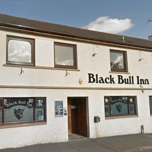 Black Bull Inverurie outside